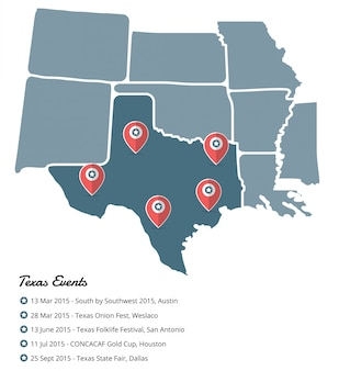 Événements au texas