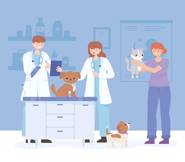 Examen vétérinaire des médecins