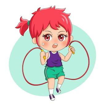Exercice féminin