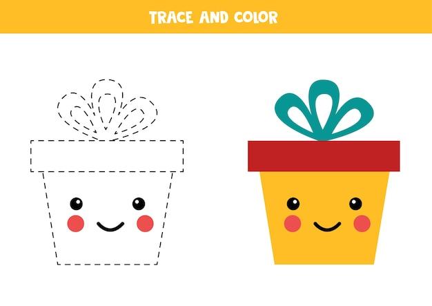 Exercice de trace et de couleur