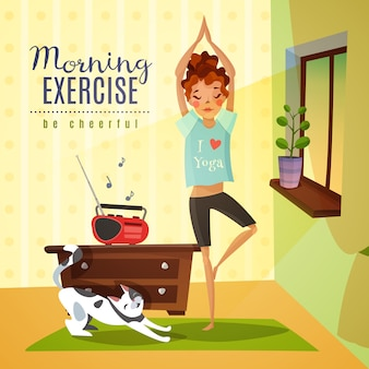 Exercices du matin