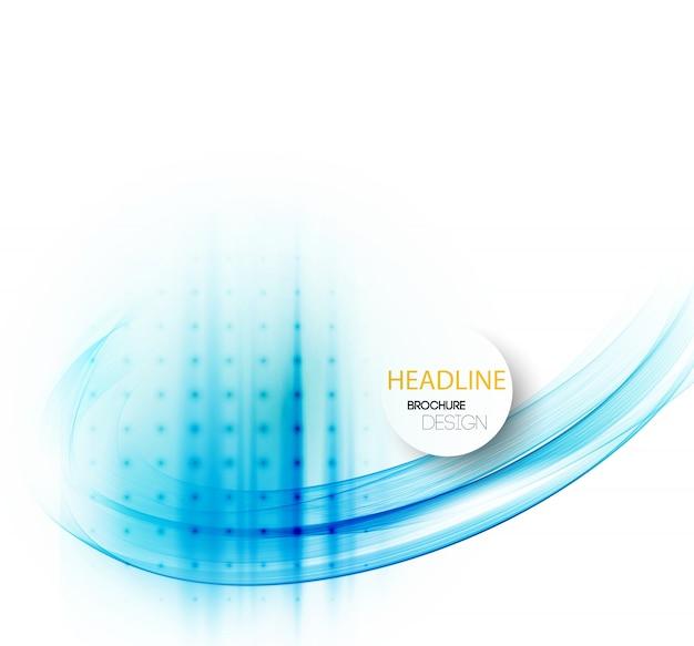 Expérience en affaires abstraite. conception de brochure modèle