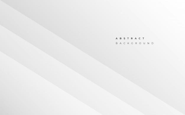 Expérience en affaires blanc abstrait minimaliste