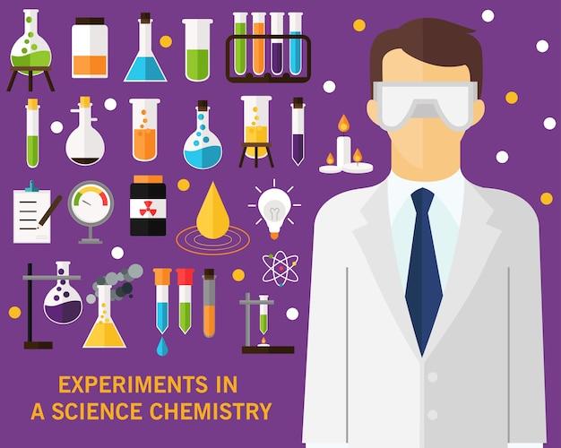 Expériences dans un concept de chimie scientifique