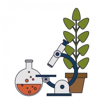 Expériences scientifiques et recherches lignes bleues