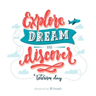 Explorez le rêve et découvrez la journée du tourisme