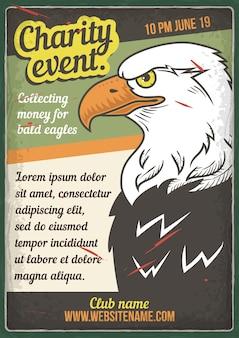 Exposition d'oiseaux prédateurs
