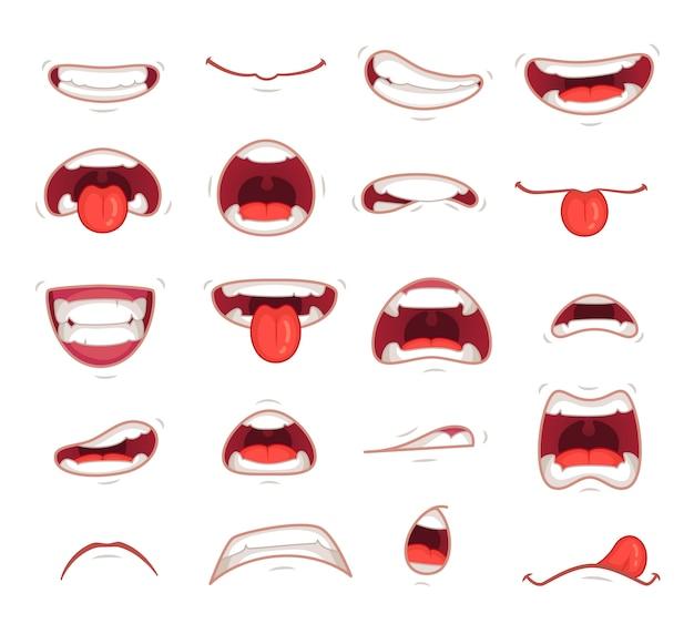Expression faciale surprise bouche