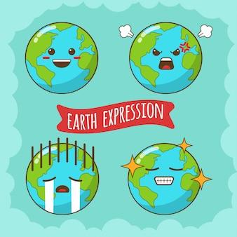 Expression de la terre