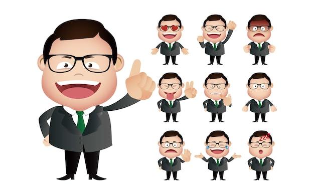 Expressions faciales de l'homme