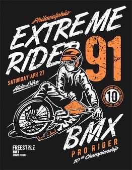 Extreme rider