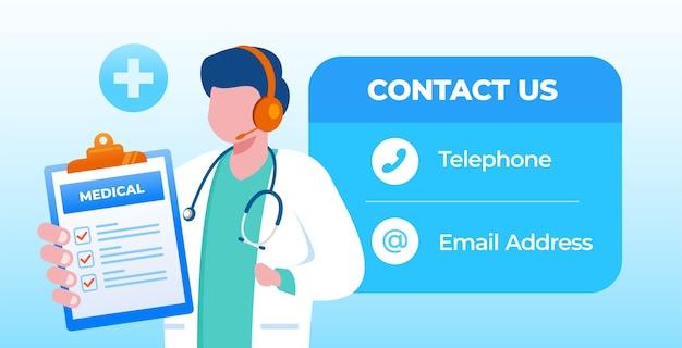 Facile d'appeler votre médecin pour une consultation