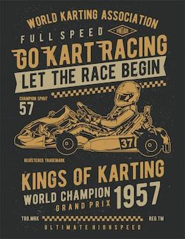 Faire du karting