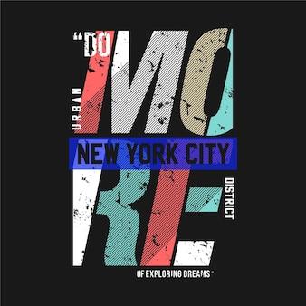 Faire plus d'explorer les rêves illustration de typographie graphique pour t-shirt imprimé