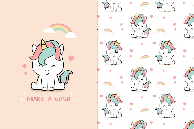 Faire un vœu de licorne