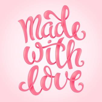Fait avec amour