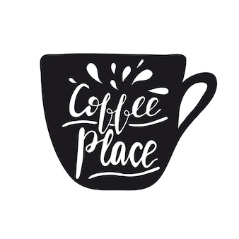 Faites-moi un peu de café. illustration vectorielle