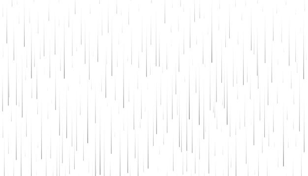 Fallinf pluie sur fond blanc