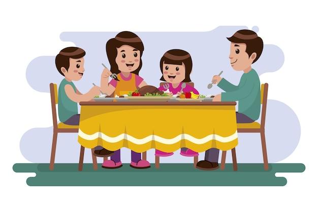 Famille, apprécier, temps, ensemble