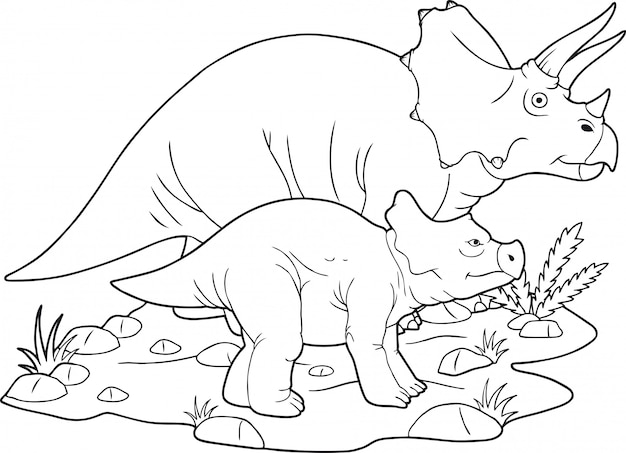 Famille de dinosaures