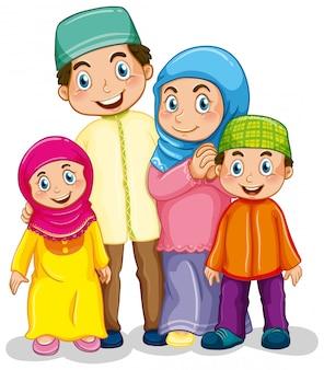 Famille musulmane