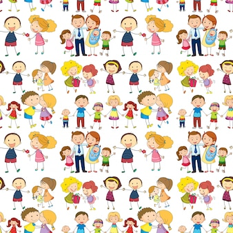 Famille sans soudure