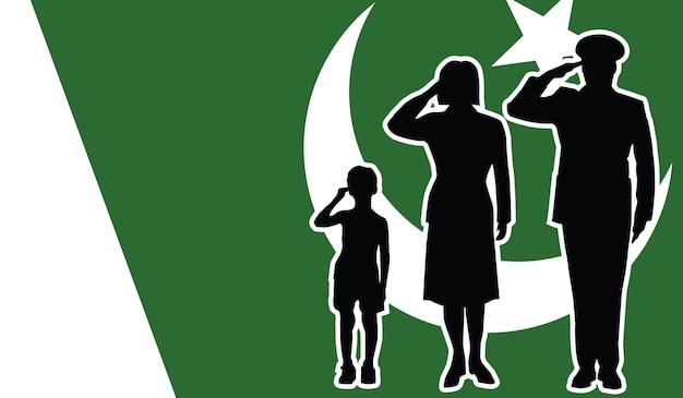 La famille de soldat pakistanais salue le fond de patriote
