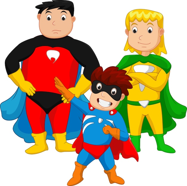 Famille de super héros