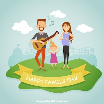 Family day design plat