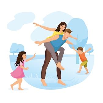 Family park - cartoon et activité en plein air