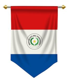 Fanion du paraguay