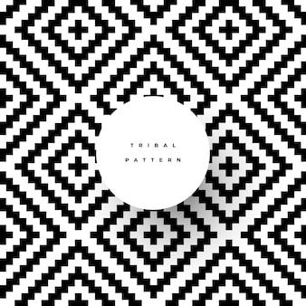 Fantastique motif tribal