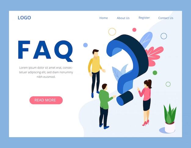 Faq questions fréquemment posées page de destination