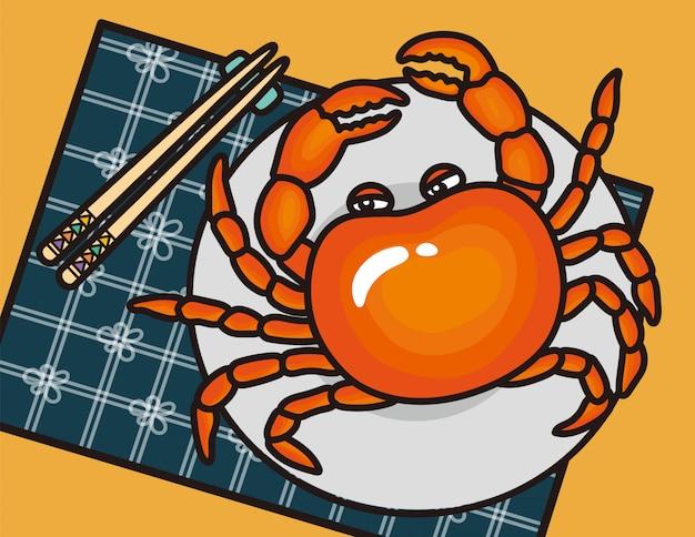 Farine de crabe