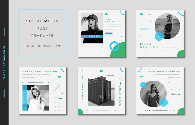 Fashion_instagram_post_template_square_banner_collection_green_and_blue
