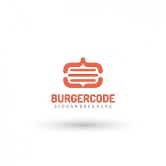 Fast-food logo template