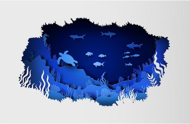 La faune sous la mer