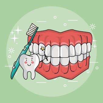 Fée des dents et soins dentaires