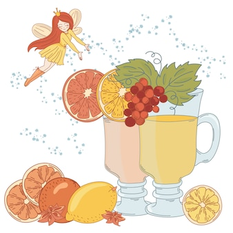 Fée de la limonade noël