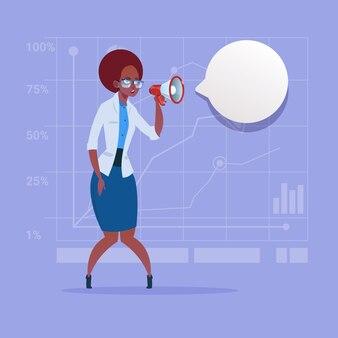 Femme d'affaires afro-américaine