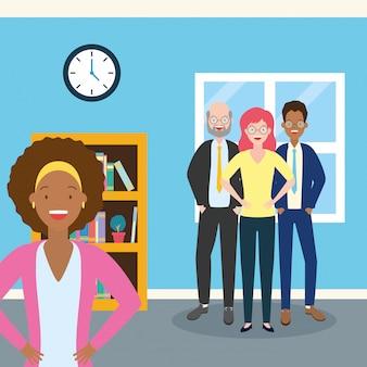 Femme d'affaires et diversité
