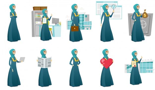 Femme d'affaires musulmanes