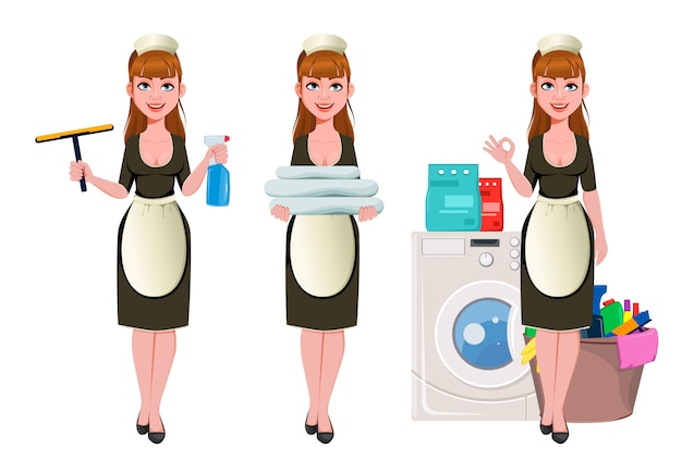 Femme de chambre, femme de ménage, femme de ménage