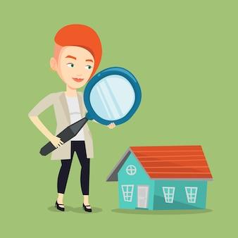 Femme cherche maison