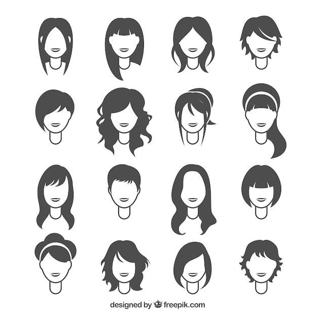 Femme coiffures