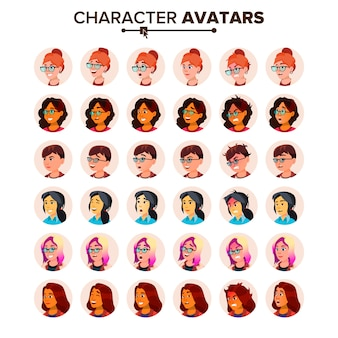 Femme icône avatar