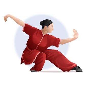 Femme kungfu