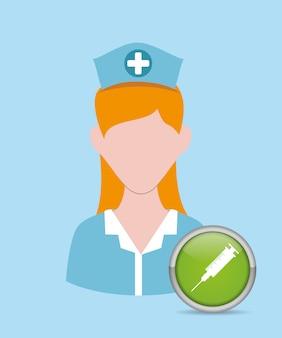 Femme médical