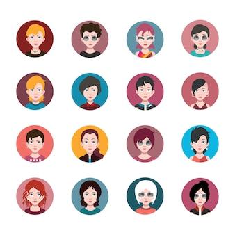 Femmes avatars collection