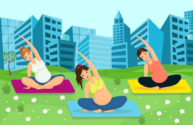 Femmes enceintes travaillant